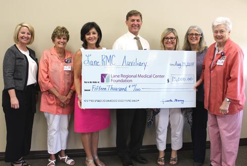 Auxiliary donation 2018