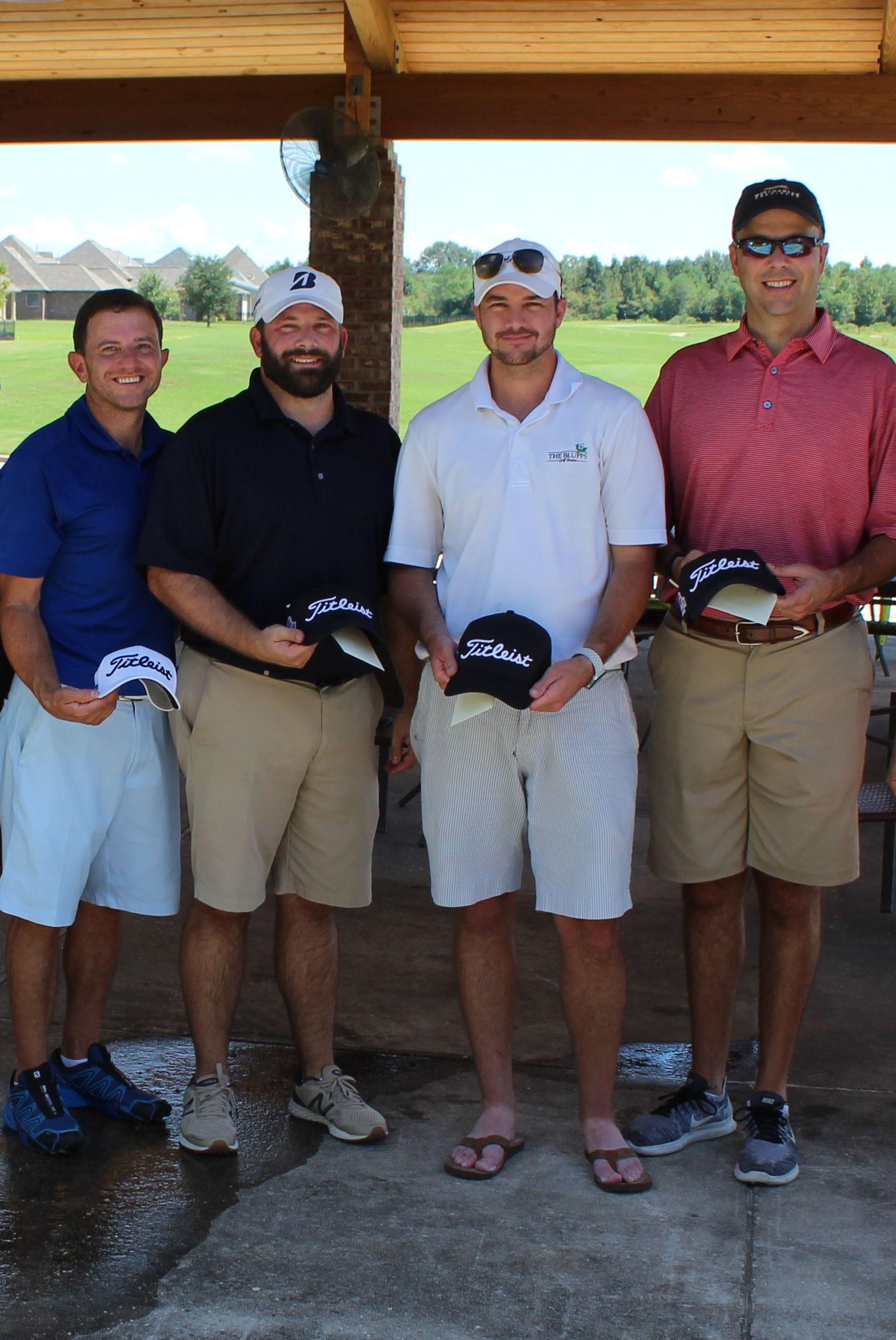 Golf Tournament 1st Place Winners