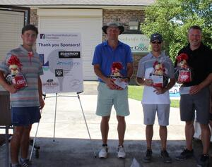 Golf Tournament 2nd Place Winners