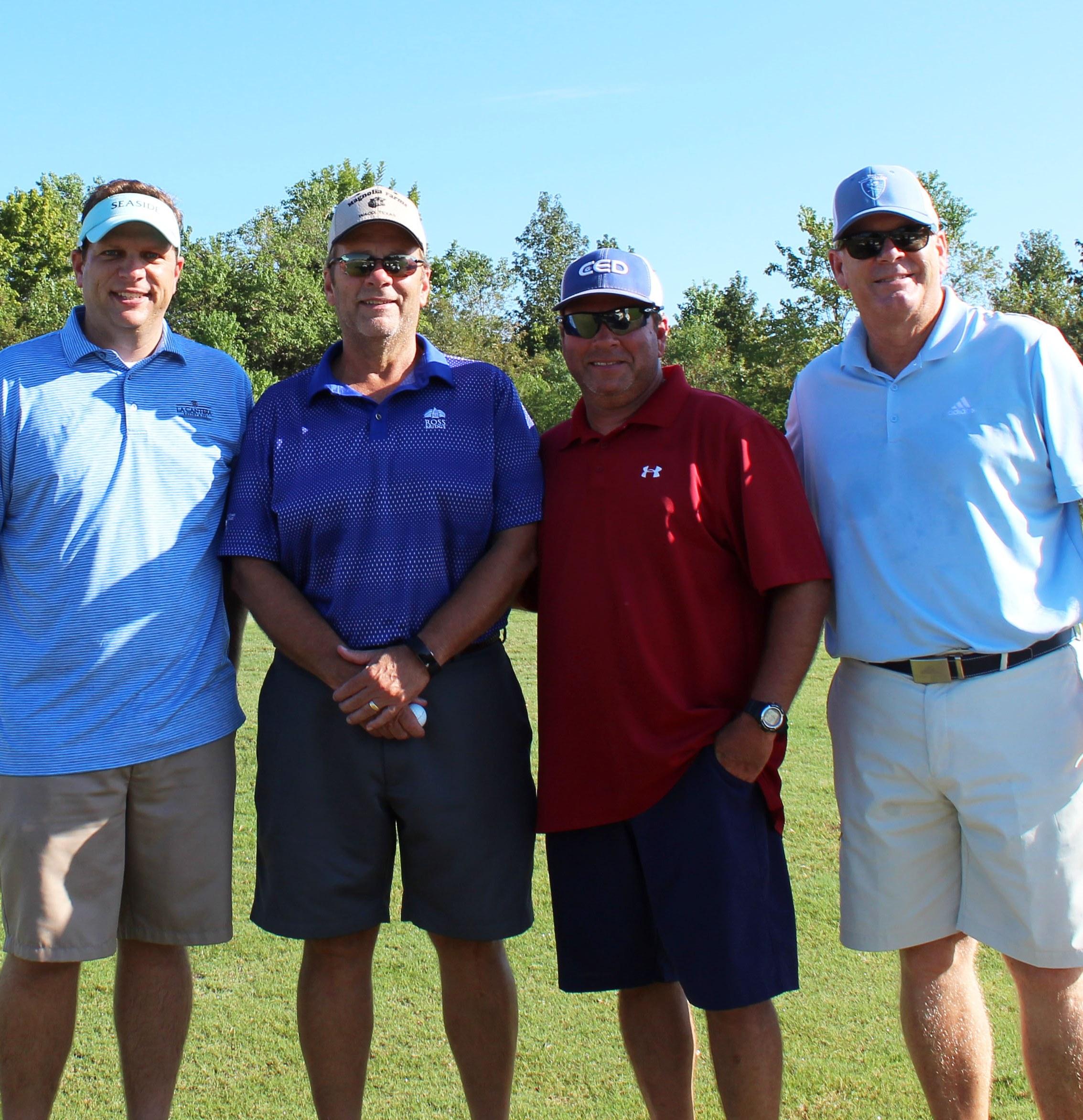 Golf Tournament 3rd place winners
