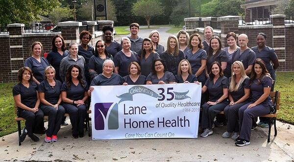 Home Health 35th annv group shot