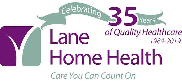 Home Health logo 35th