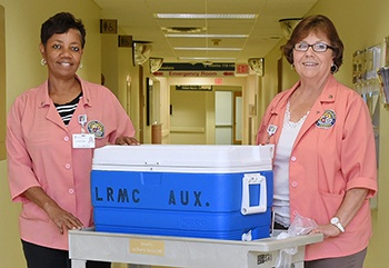 Lane RMC Auxillary Volunteers