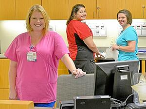 Lane Regional Infusion Center Staff