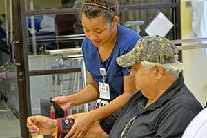 Rehabilitation Care - LRC Patient