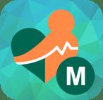 MHealth patient portal app logo