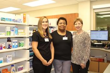 Pharmacy staff horizontal