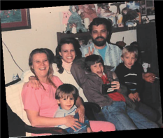 jeri 1990 with family