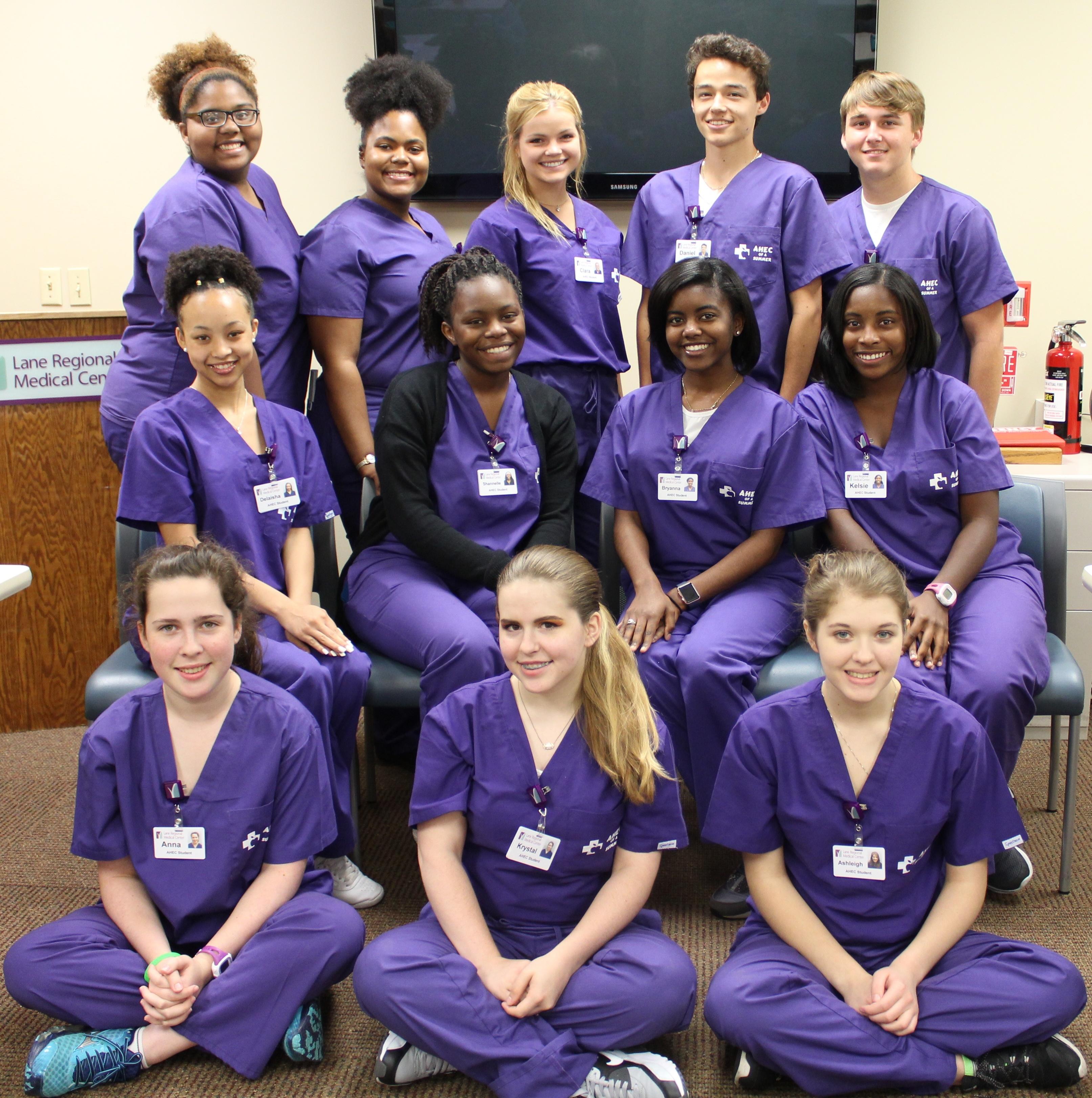 """AHEC of a Summer"" Program at Lane Regional Medical Center"