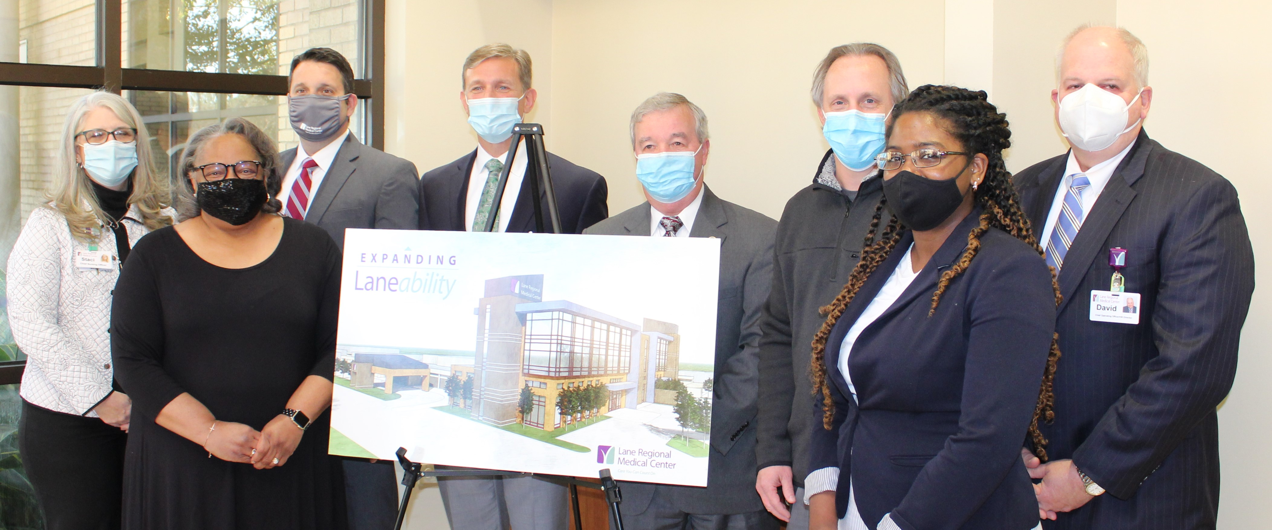 Lane Announces Hospital Expansion Project