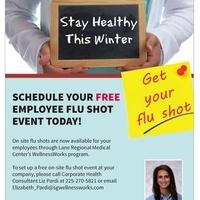 Schedule Your FREE Employee Flu Shot Event