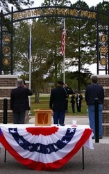 Annual Veterans Day Program at Regional Veterans Park