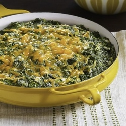 Creamed Spinach Casserole