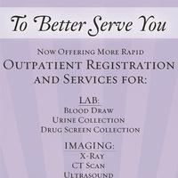 Outpatient Diagnostic Center Push Card