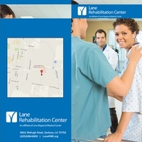 Lane Rehabilitation Center Brochure