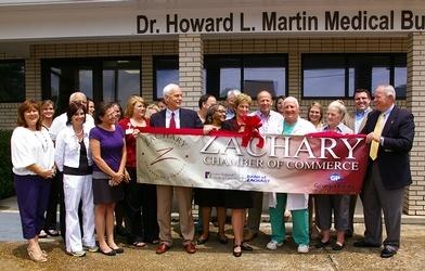 Dedication Ceremony for Dr. Howard Martin
