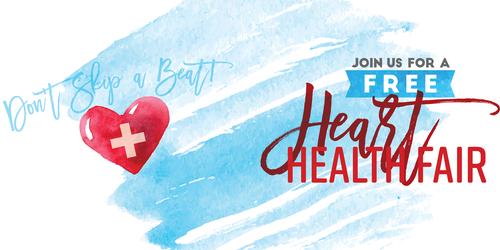 Free Heart Health Fair to be Held February 9