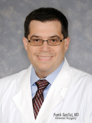 Frank Sanfiel, M.D., FACS