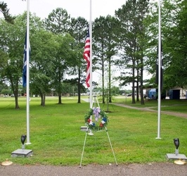 Memorial Day Laying of the Wreath Ceremony at Regional Veterans Park