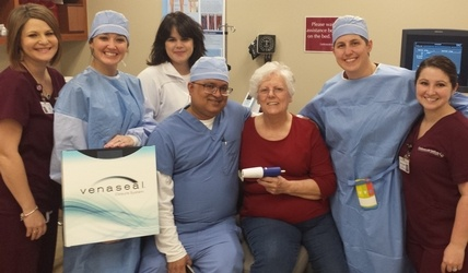CIS Cardiologists Are First To Use Venaseal Technology in East Baton Rouge