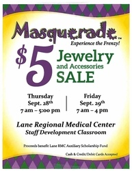 Lane Auxiliary Hosts Masquerade $5 Jewelry and Accessories Sale