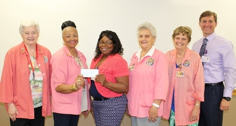 Lane Auxiliary Presents $15,000 Check