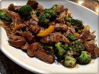 Sirloin and Broccoli Stir-Fry