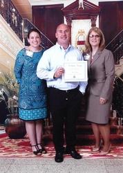 Jason Gwyn Receives Celebrate Nursing Award