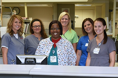 Emergency Room Staff at Lane Regional