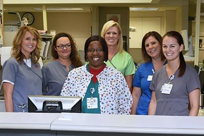 Emergency Room Staff at Lane Regional