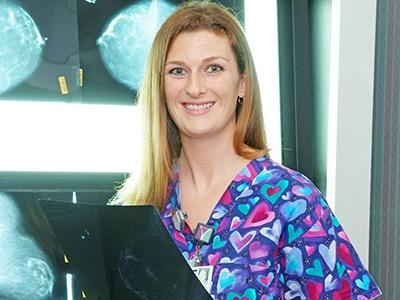 Kaycie Oliphant at Lane Regional Imaging Services