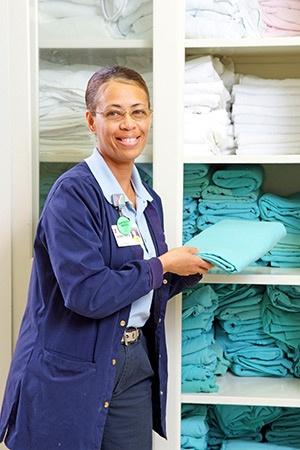 Demetria Thomas at Lane Regional Nursing Home