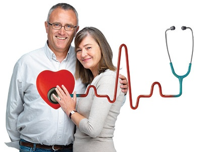Vascular Surgery - Couple Heart