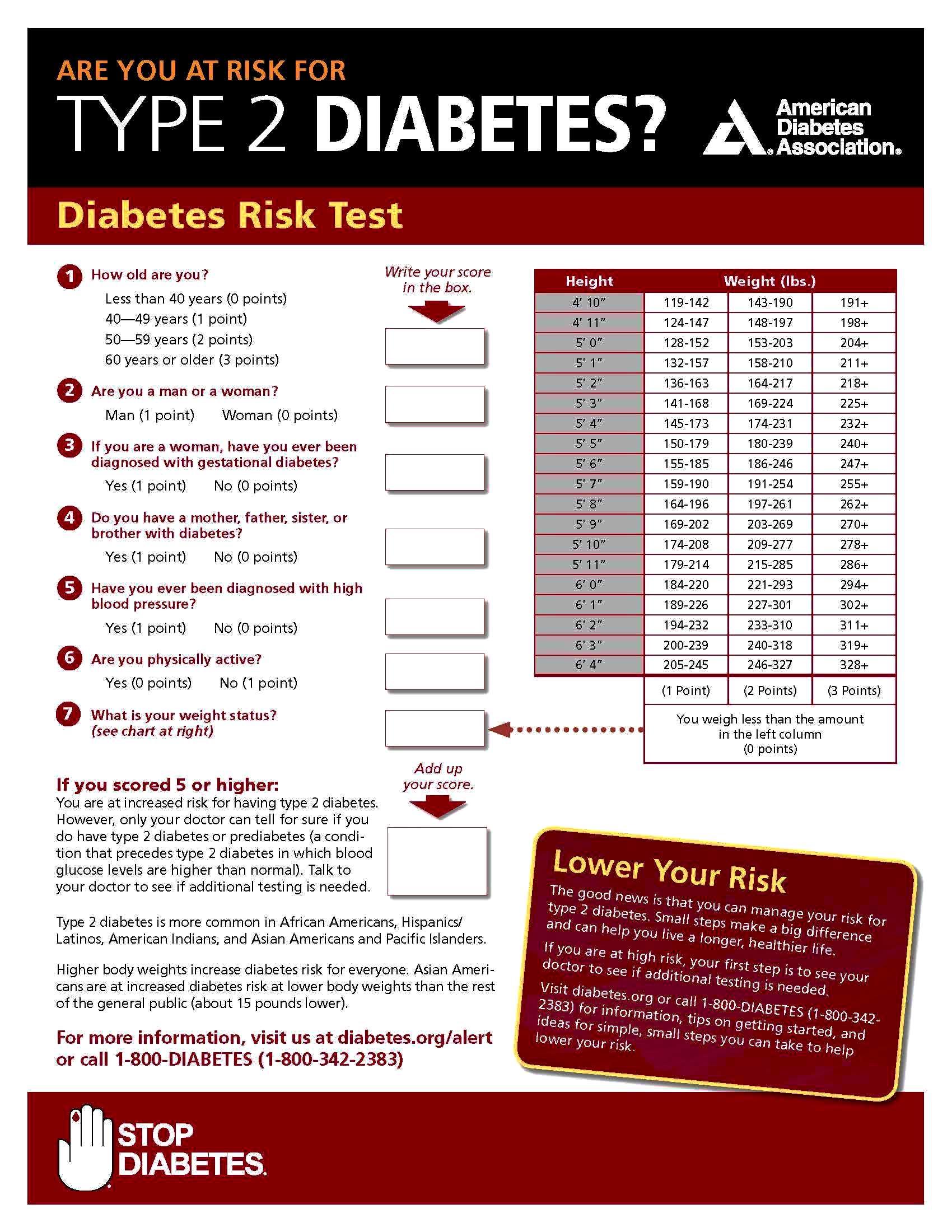 Risk Test Paper
