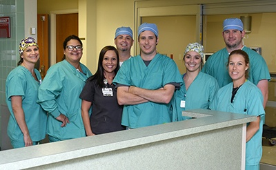 Surgical Team at Lane Regional