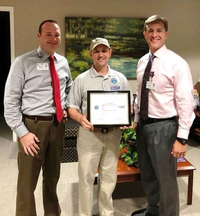 Lane CEO Presented Patriot Award
