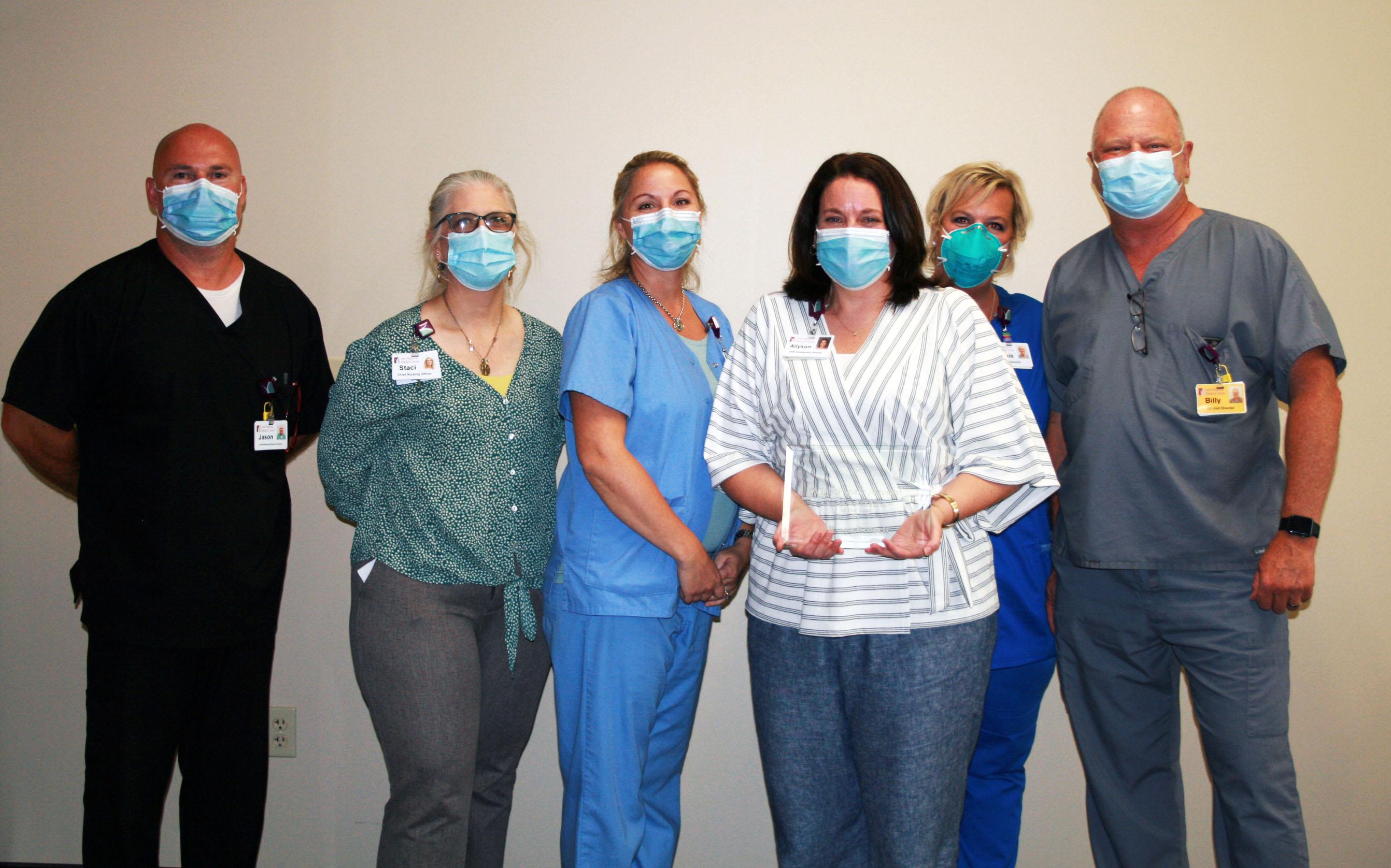 Allyson Bennett Named Clinical Nurse Educator of the Year