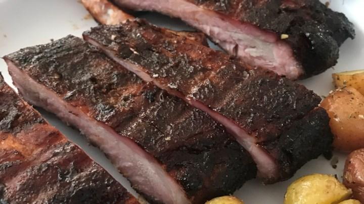 Sweet Smoked Pork Ribs
