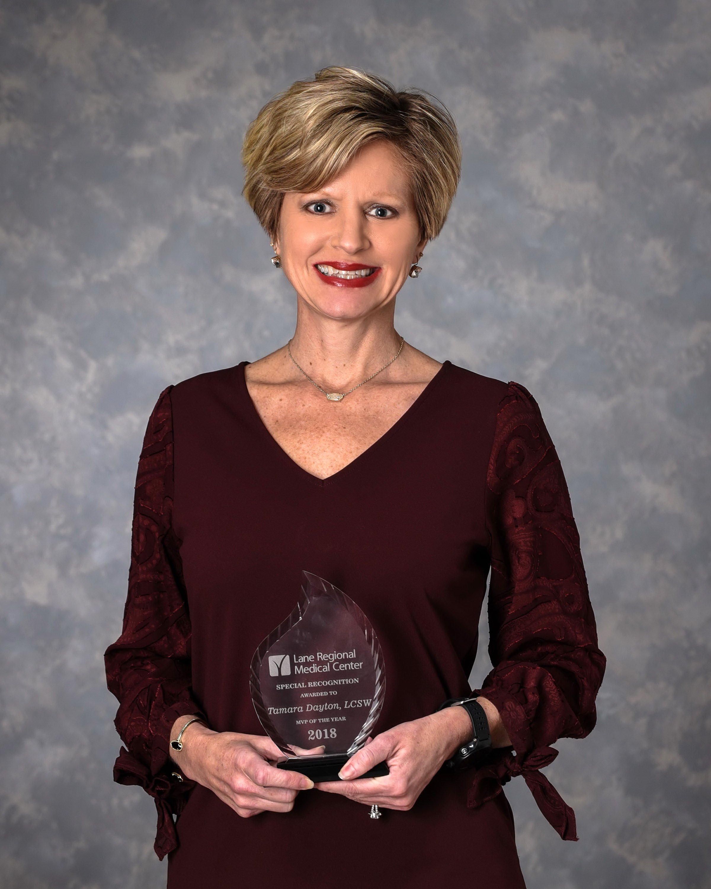 Lane Regional Medical Center Names Tamara Dayton MVP of the Year