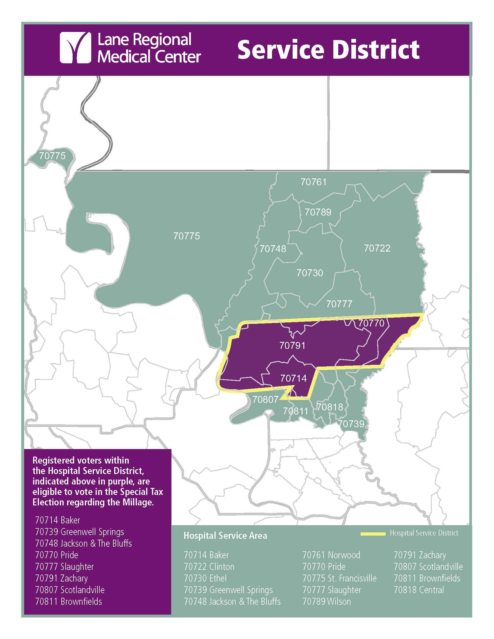 Voter Millage Map