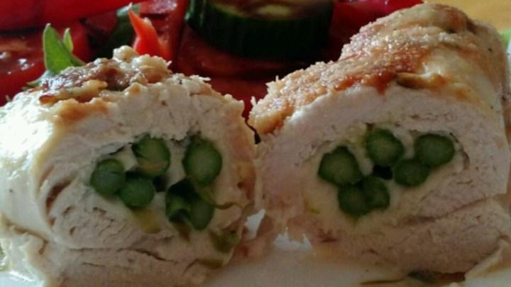 Chicken Asparagus Roll-Ups