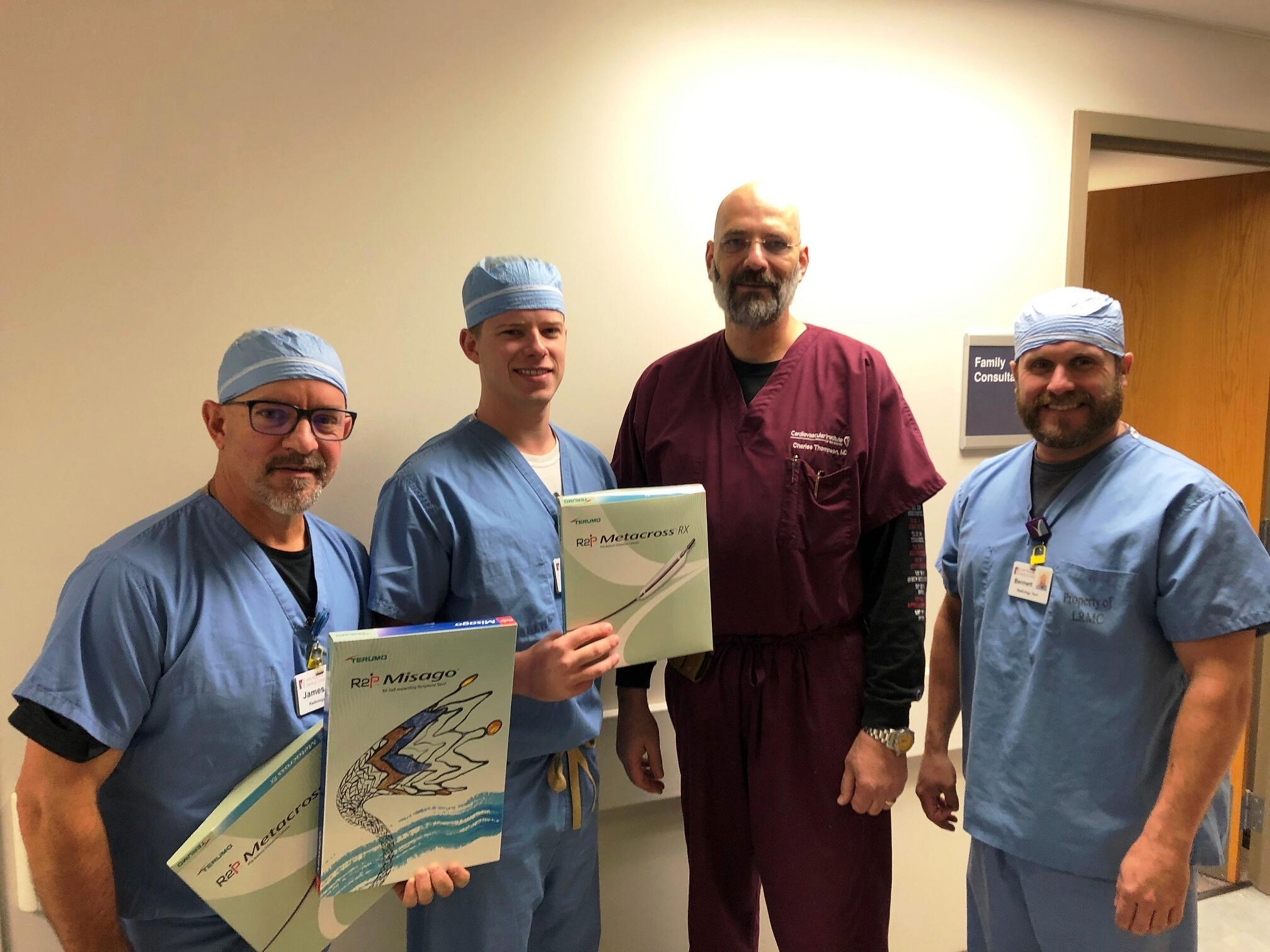 CIS Zachary First in Baton Rouge Region to Use MISAGO Stent for Peripheral Interventions