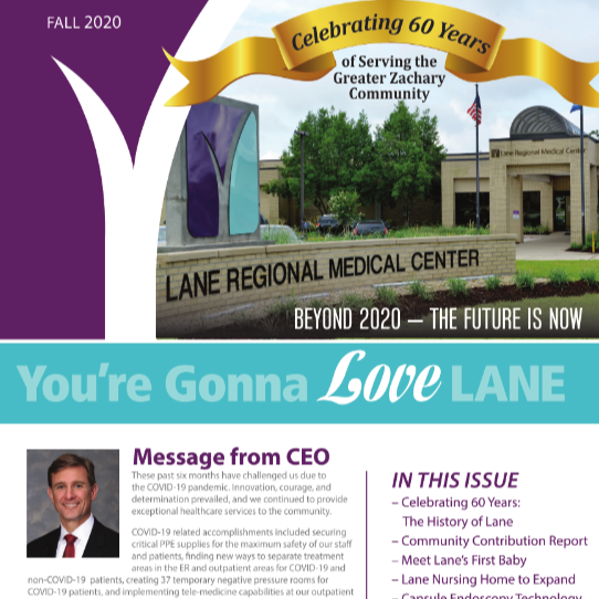 Fall 2020 Love Lane Newsletter